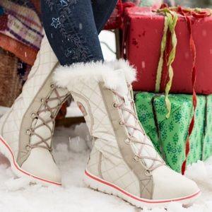 Sorel Cozy Cate Boots Sz 10.5